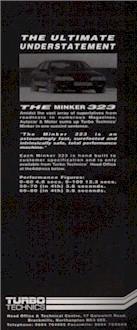 Turbo Technics Minker 323 Advert